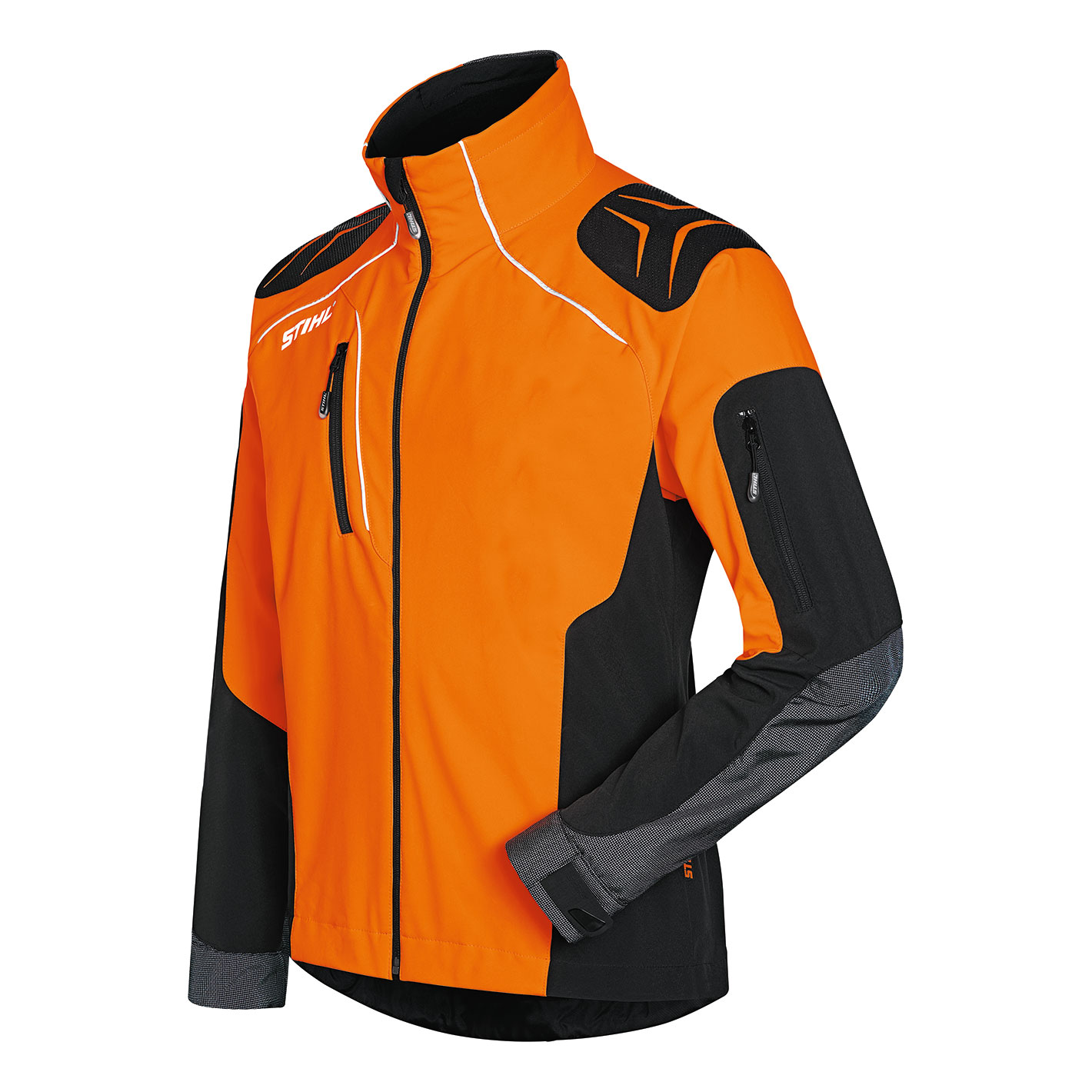 Veste ADVANCE X-SHELL Orange / Noire