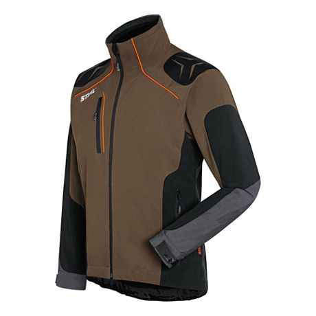 Veste ADVANCE X-SHELL tourbe/noire